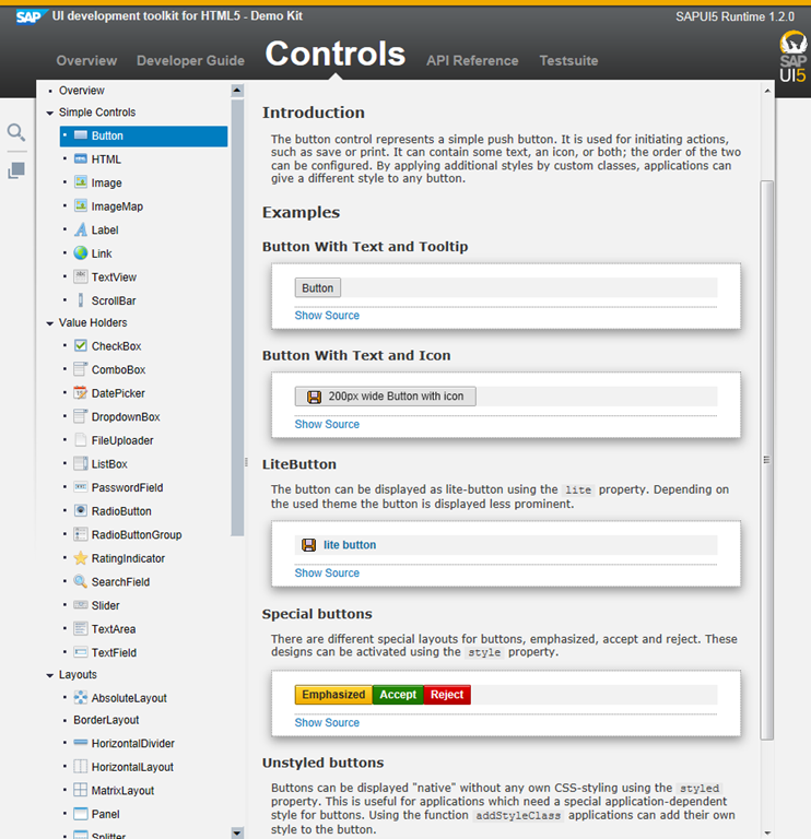 Installing the SAPUI5 SDK Samples       And All That JS